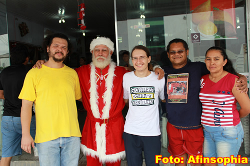 Nelson Noel e a moçada da Afin