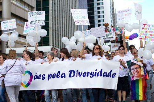 19ª edição, Parada do Orgulho LGBT de São Paulo cobra respeito e igualdade (Daniel Mello/Agência Brasil)