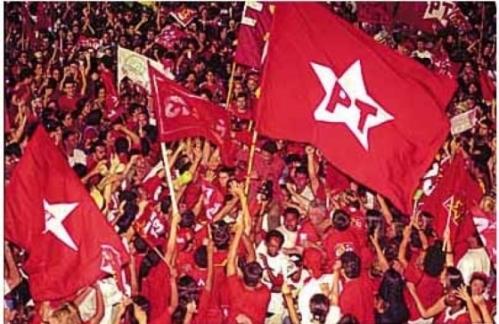 Resultado de imagem para imagens da bandeira do pt