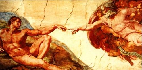 Resultado de imagem para pinturas clássicas de deus